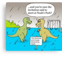 Noah's Park Canvas Print