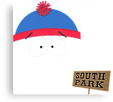 Invisible Stan form South Park Canvas Print