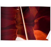 Antelope Canyon - Let There Be LIght  Poster