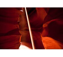 Antelope Canyon - Let There Be LIght  Photographic Print