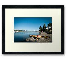 Sunshine Coast BC Framed Print
