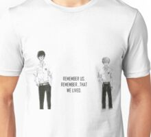 Nine & Twelve from Zankyou No Terror Unisex T-Shirt