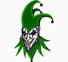 Evil Jester Clown Unisex T-Shirt