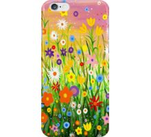 Happy Little Garden 3 iPhone Case/Skin