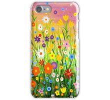 Happy Little Garden 3 iPhone Case/Skin