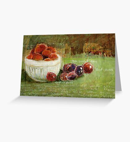 Summerfruits Greeting Card