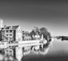 Wareham on the Frome by Clive