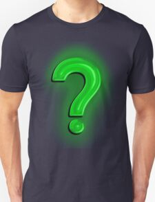 Question Mark Light Bulb T-Shirt