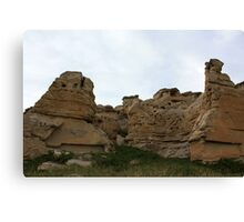 Writing-on-Stone Provincial Park (Áísínai'pi) Canvas Print