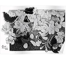 Theodor Kittelsen Paa eplegrenen on apple branch Poster
