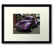 Custom Violet Framed Print