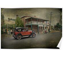 Vintage Motoring Poster