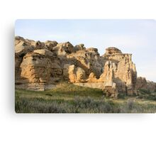Writing-on-Stone Provincial Park (Áísínai'pi) Metal Print