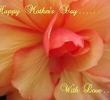 Happy Mother's Day ~ Greeting's Card by Sandra Cockayne
