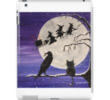 The Witch's Sleigh iPad Case/Skin