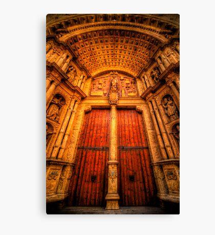 Imposing Thresholds Canvas Print