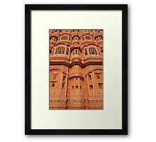 Palace of the Winds, Pink City, Jaipur Framed Print