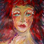Girl with red hair, 2010 by Thelma Van Rensburg
