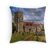 St Mary  Throw Pillow