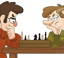 Fordford-playing Chess ! by ecchima