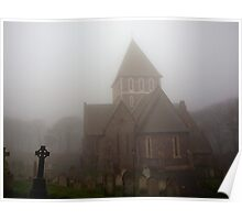 Fog in the Graveyard Poster