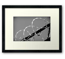 PEACE & LOVE Framed Print