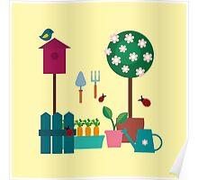 Garden scrapbook Poster