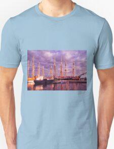 Tall Ship Sunset T-Shirt