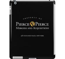 Pierce & Pierce - Mergers and Acquisitions (worn look) iPad Case/Skin