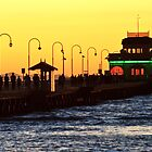 The St Kilda Pier and Restaurant by Michael Kilpatrick