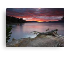 Sunrise Near Ninepin Point, Tasmania #11 Canvas Print
