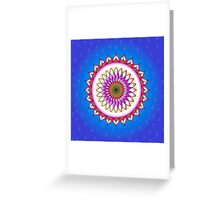 The Beautiful Lotus Flower Greeting Card
