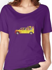 Cat wagon Women's Relaxed Fit T-Shirt