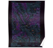 USGS Topo Map Oregon Eagle Cap 279742 1990 24000 Inverted Poster