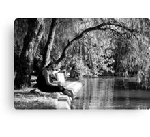 Chillin' in the park Canvas Print