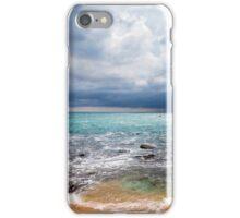 Thunderstorm over the ocean iPhone Case/Skin