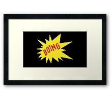 AWESOME - 8 BIT VINTAGE COMIC Framed Print