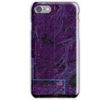 USGS Topo Map Oregon Ketchum Reservoir 280399 1994 24000 Inverted iPhone Case/Skin