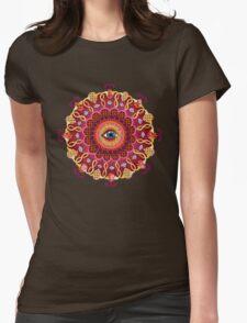 Cosmic Eye Mandala Tshirt Womens Fitted T-Shirt