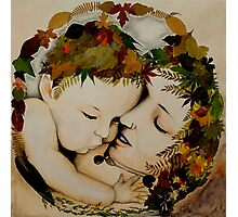 Mother and Child Earth Photographic Print