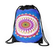 The Beautiful Lotus Flower Drawstring Bag