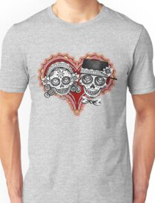 Sugar Skulls Couple Tshirt Unisex T-Shirt