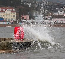 Wave over the wall by SWEEPER