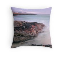 Atlantic Reach, Outer Hebrides Throw Pillow