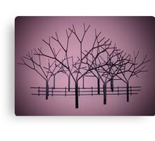 Tree Sculpture Canvas Print