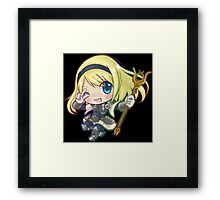 Cute Lux - League of Legends Framed Print