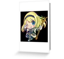 Cute Lux - League of Legends Greeting Card