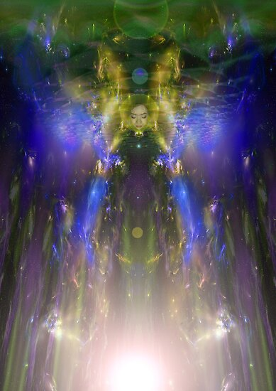 As the soul merges with the pineal by Bill Brouard