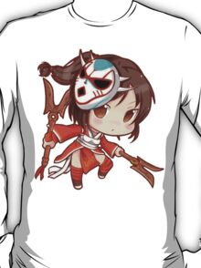 Cute Blood Moon Akali - League of Legends T-Shirt