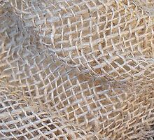 Texture of Burlap by Monnie Ryan